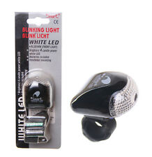 "BICYCLE/BIKE FRONT LIGHT by ""SMART"" 4 CANDLE POWER, 3 MODES  (batteries included"