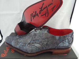 JEFFERY WEST Stingray Lace-Up LUGOSI Shoes 🌍 Size 8 🌎 RRP £395+ 🌏 UK FREEPOST