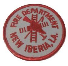 New Iberia Louisiana Fire Department Patch LA