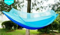 300KG Double Hammock Air Chair Bed Hanging Swinging Outdoor Camping Mosquito Net