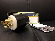 Leviton 4wire 3 Pole Grounding Locking Plug  2711 Sale!!!!!!!!