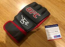 CM PUNK SIGNED AUTOGRAPHED UFC GLOVE WWE WRESTLING MMA COA PSA