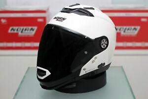Nolan N70-2 GT Classic N-Com (5 Metal White)