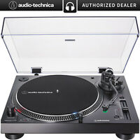 Audio-Technica Direct-Drive Turntable (Analog & USB) AT-LP120XUSB-BK (Black)