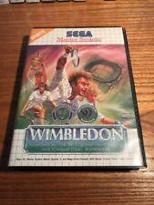 Sega Master System Game - Wimbledon - Pal SMS