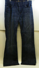 7 For All Man Kind High Waist Boot Cut Blue Denim Jeans 29 P344380S