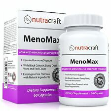 #1 Menopause Relief Supplement - Natural Herbal Menopausal Support Formula fo...