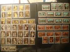 UK.1937 Coronation of George VI and Elizabeth.59 poster stamps.Hinged