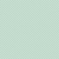Baumwollstoff Pünktchen Mint METERWARE Webware Popeline Stoff Dots