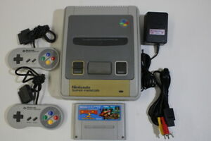 Nintendo Super Famicom Console & Donkey Kong 2 SFC SNES Japan Import K1333M