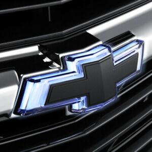 2019-2021 Chevrolet Malibu Illuminated Front Bowtie Emblem 84141155 Black OEM GM