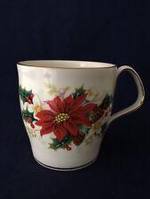 Beautiful Vintage Royal Albert Poinsettia Mug