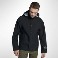 Men's Nike SB Skateboarding Gore-Tex Nike Shield Jacket Black Large L 862805 010