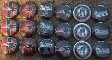"New England Patriots - 1"" Flatback Buttons"