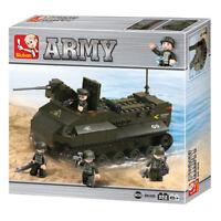 Sluban Army tank m38 B6300 223 PCS building bricks game