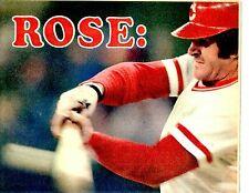 1978 Cincinnati Enquirer Supplement Insert  PETE ROSE-3000