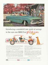 1960 FORD Falcon Model PRINT AD