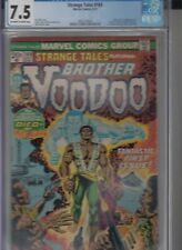 Strange Tales #169 (09/73) featuring the 1st app of Brother Voodoo CGC 7.5