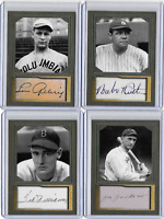 Portrait & Landscape Ruth, Gehrig, Shoeless Joe Jackson, Williams,  Gupar Fife