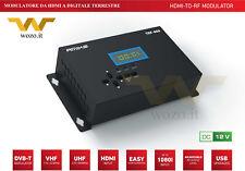 Amiko TRF-800 Modulatore Video HDMI con uscita RF Digitale Terrestre DVB-T Full