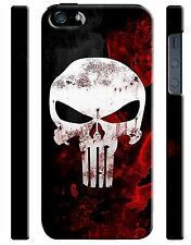 Iphone 4s 5s 5c 6 6S 7 8 X XS Max XR 11 Pro Plus Hard Cover Case The Punisher 15