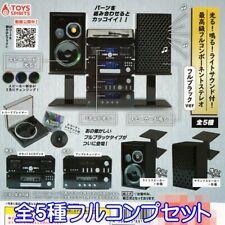 Toys Spirit Capsule Gashapon Full Component Stereo Hi Fi Black Version Full Set