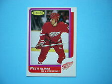 1986/87 O-PEE-CHEE NHL HOCKEY CARD #98 PETR KLIMA NM+ SHARP!! 86/87 OPC