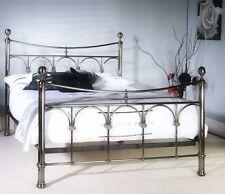 New Gemma Antique Nickel Double 4FT6 Bedstead