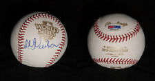 Bill Neukom SIGNED 2010 World Series SF Giants Baseball PSA/DNA AUTOGRAPHED