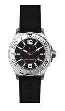 TOMMY HILFIGER Men's 45mm Silver Stainless Steel Quartz Watch w/Date 1790954