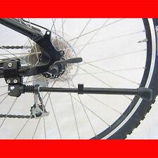 Alu Aluminium Bicycle Bike Cycle Adjustable Alloy Side Kick Stand Rubber Foot UK