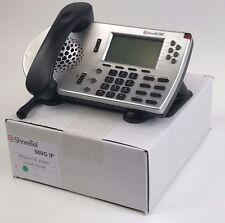 ShoreTel 560G Silver IP Gigabit Phone VoIP Shorephone-Refurb Lot 1 Year Warranty