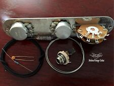 MVG Tele Guitar S1 Wiring Kit Alpha A-B500, PIO, HD Jack Set  Incl.Treble Bleed!