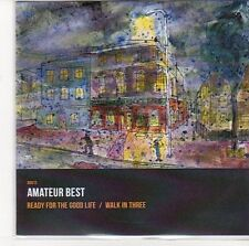 (EE236) Amateur Best, Ready For The Good Life / Walk In Three - 2013 DJ CD