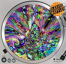 "Trippy LSD #2 Altered Acid Slipmat Turntable 12"" LP Record Player DJ Audiophile"