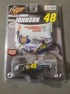 2007 Jimmie Johnson #48 Lowes Martinsville Winners Circle NASCAR 1/64th Diecast