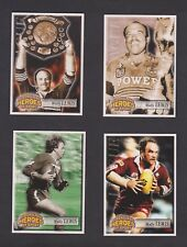 2002 COURIER MAIL QLD HEROES OF SPORTS CARDS - WALLY LEWIS (4)