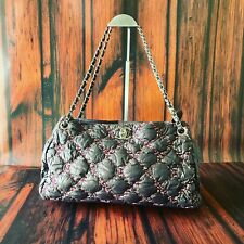 Chanel Bubble Quilt Purple Shoulder Bag