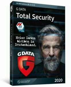 G DATA Total Security 2021 1 PC 1 Jahr Security Protection Gdata Made in Germany