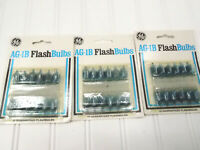 36 Vintage GE AG-1B Flashbulbs New in Box *Free Shipping*