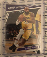 2019-20 Lebron James Panini Chronicles Prestige #75 Los Angeles Lakers