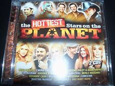 Hottest Stars On The Planet Various 2 CD Carrie Underwood Adam Harvey Tim McGraw