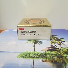 NSK 7909CTYDULPA7 SUPER PRECISION BALL BEARING (NEW NEVER USED)