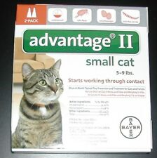 Bayer Advantage II For Small Cats 5-9 lbs