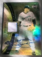 Ben Sheets 2005 Upper Deck MLB Artifacts Gold Foil Jersey/Auto #14/30 Mint