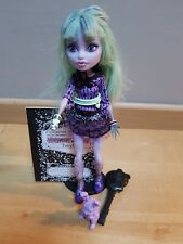 Monster High Doll Twyla 13 Wishes / Poupée avec lapin Manque le sac
