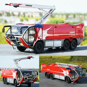 1:43 Scale CARMICHAEL COBRA 3 Airport Fire Truck Diecast Model Toys Red