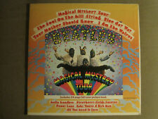 THE BEATLES MAGICAL MYSTERY TOUR LP OG '67 SMAL-2835 STEREO POP ROCK W/ BOOK VG+