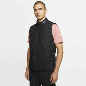 NEW Nike Golf Aeroloft Repel Vest CD8958-010 Black Size Large Tall $190 NWT