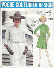 """1969 Vintage VOGUE Sewing Pattern B38"""" DRESS (1336) By SYBIL CONNOLLY of DUBLIN"""